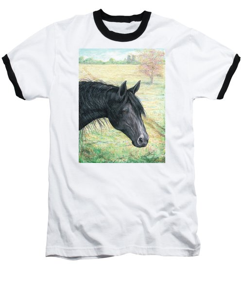 Ebony Baseball T-Shirt