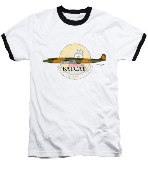 Ec-121r Batcat 553 Baseball T-Shirt by Arthur Eggers