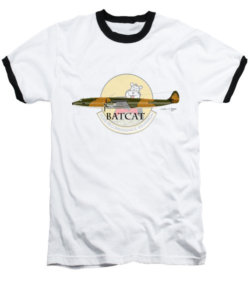 Ec-121r Batcat 553 Baseball T-Shirt