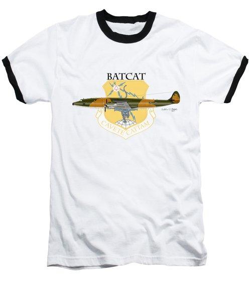 Ec-121r Batcatcavete Baseball T-Shirt by Arthur Eggers