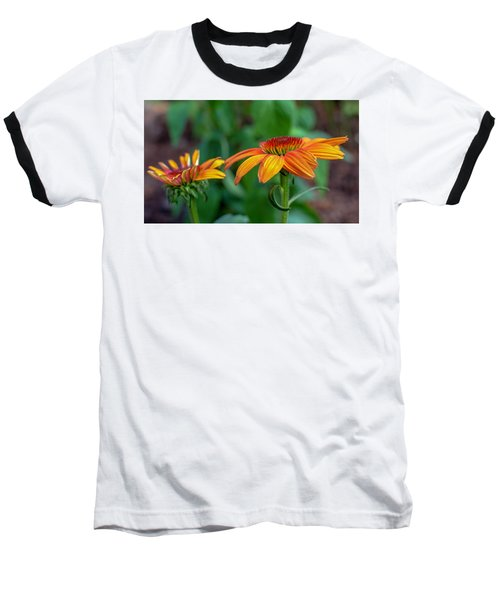 Echinacea Side View Baseball T-Shirt