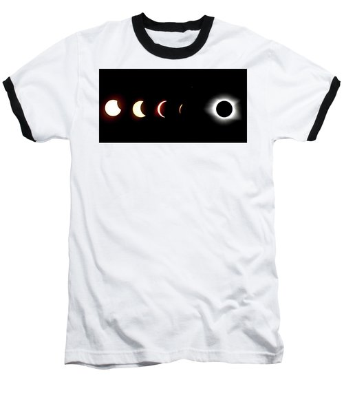 Eclipse To Totality Baseball T-Shirt