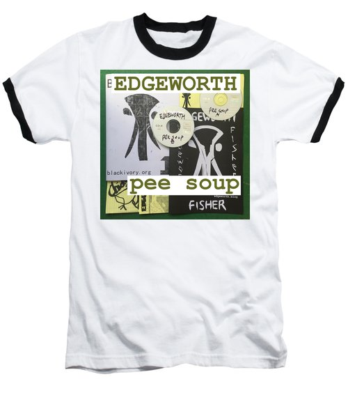 Edgeworth Pee Soup Album Cover Design Baseball T-Shirt