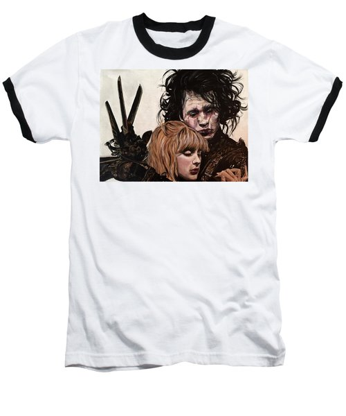 Edward And Kim Baseball T-Shirt