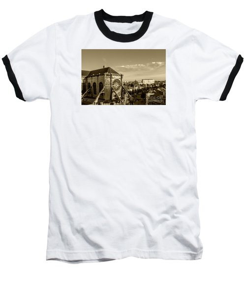 Baseball T-Shirt featuring the photograph Eglise De Saint Catherine by Pravine Chester
