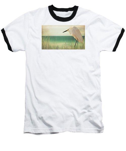 Egret In Morning Light Baseball T-Shirt