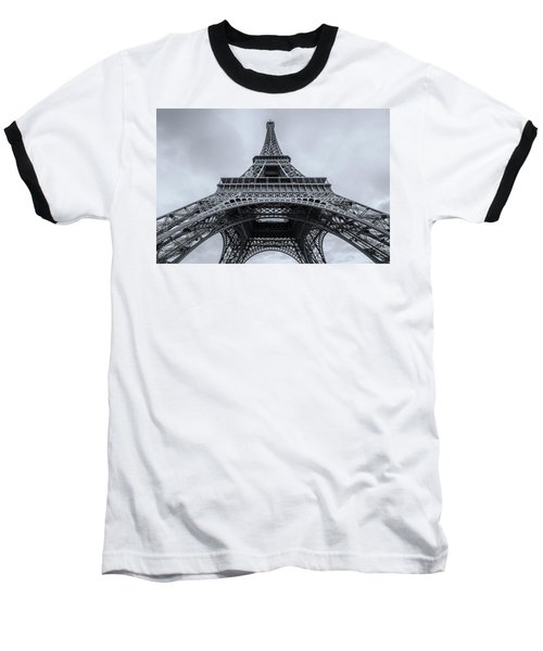 Eiffel Tower 3 Baseball T-Shirt