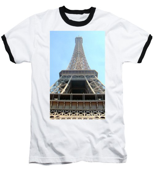 Eiffil Tower Paris France  Baseball T-Shirt