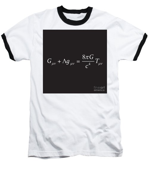 Einstein Field Equation Formula Baseball T-Shirt