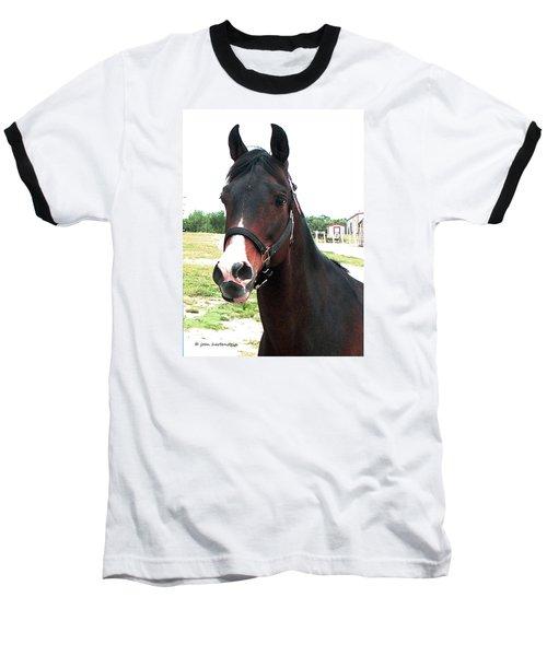 El Ameer Baseball T-Shirt by Joan Hartenstein