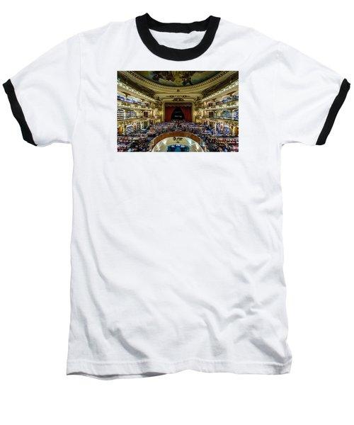 El Ateneo Grand Splendid Baseball T-Shirt by Randy Scherkenbach