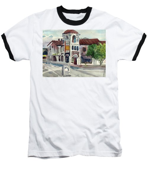El Camino Real In San Carlos Baseball T-Shirt by Donald Maier