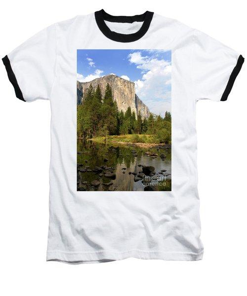 El Capitan Yosemite National Park California Baseball T-Shirt