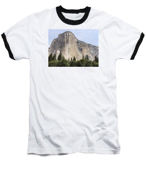 El Capitan Yosemite Valley Yosemite National Park Baseball T-Shirt