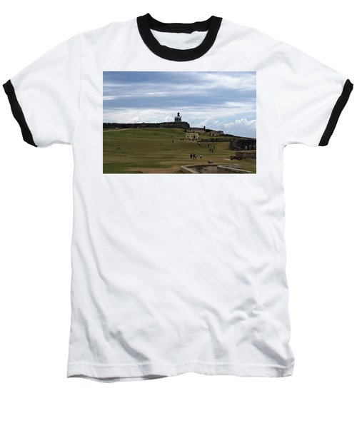 El Morro Baseball T-Shirt by Lois Lepisto