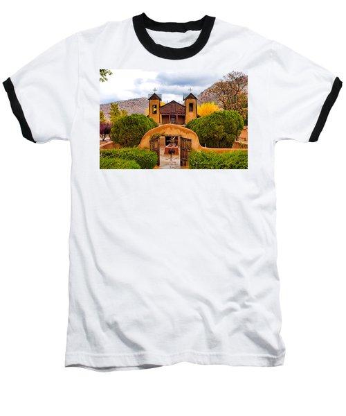 El Santuario De Chimayo Study 4 Baseball T-Shirt