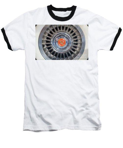 Baseball T-Shirt featuring the photograph Eldorado Hubcap by Dennis Hedberg