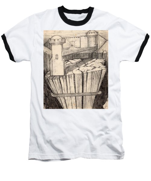 Elevator To Heaven Baseball T-Shirt