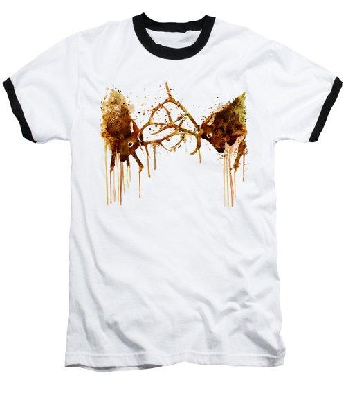 Elks Fight Baseball T-Shirt