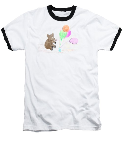 Ellie And Balloons Baseball T-Shirt