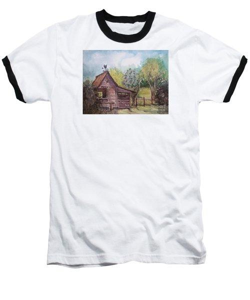 Elma's Horse Barn Baseball T-Shirt