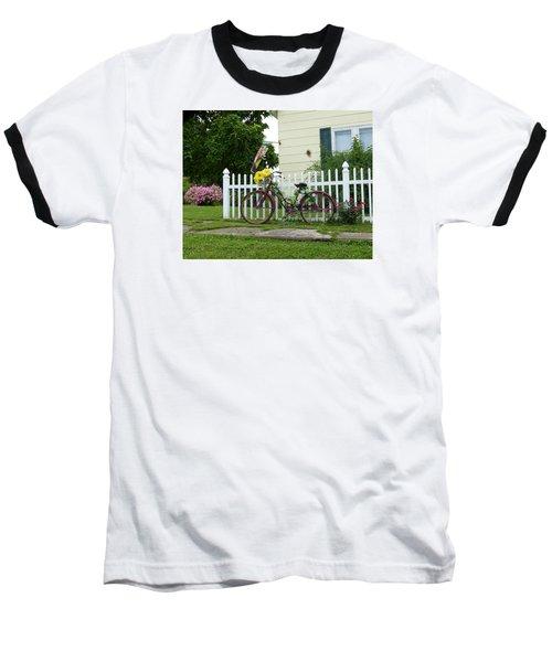 Elmer Bicycle Baseball T-Shirt