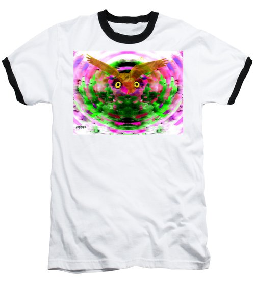 Baseball T-Shirt featuring the digital art Embrace The Wind by Seth Weaver
