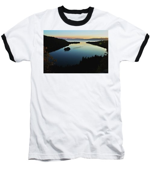 Emerald Bay, Lake Tahoe, Dawn Baseball T-Shirt