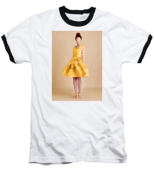 Baseball T-Shirt featuring the digital art Emma by Nancy Levan