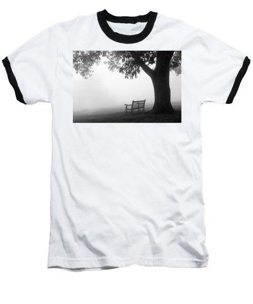 Empty Bench Baseball T-Shirt by Monte Stevens