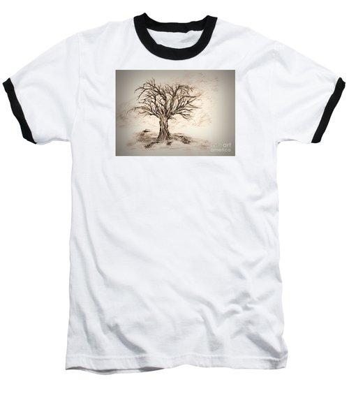 Enchanted 3 Baseball T-Shirt by John Krakora