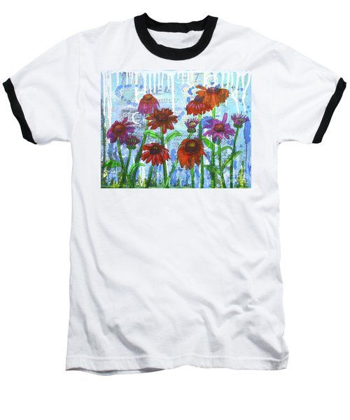 Enchanting Echinacea Baseball T-Shirt