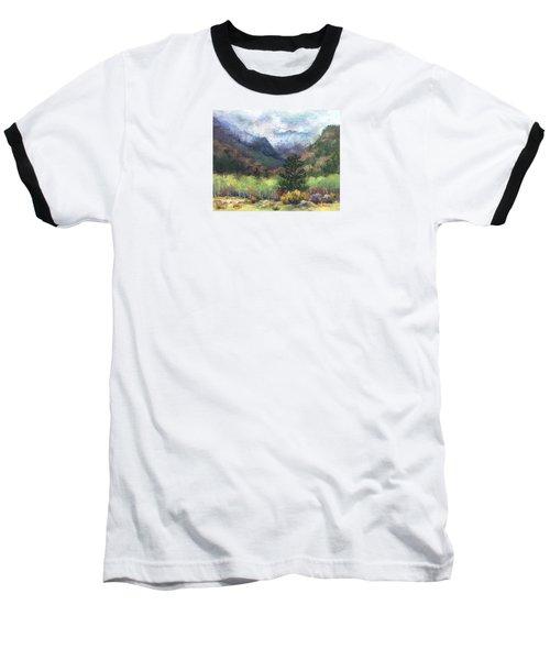 Encroaching Clouds Baseball T-Shirt