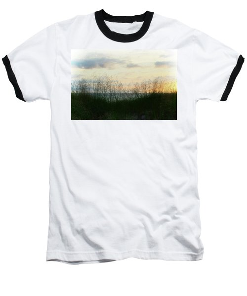 Baseball T-Shirt featuring the photograph End Of Day At Pentwater by Michelle Calkins