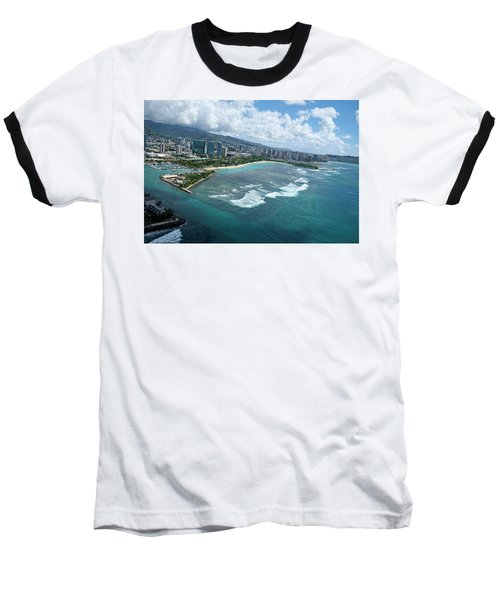 Endless Summer Baseball T-Shirt by Lucinda Walter