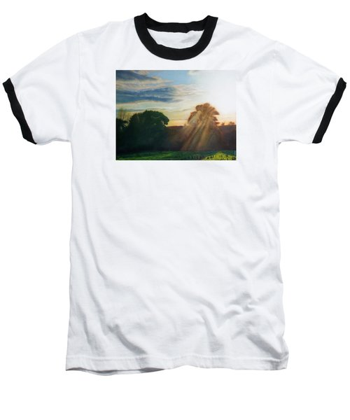 English Countryside Baseball T-Shirt