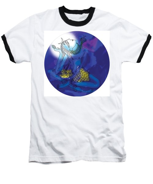 Enlightened Shiva  Baseball T-Shirt