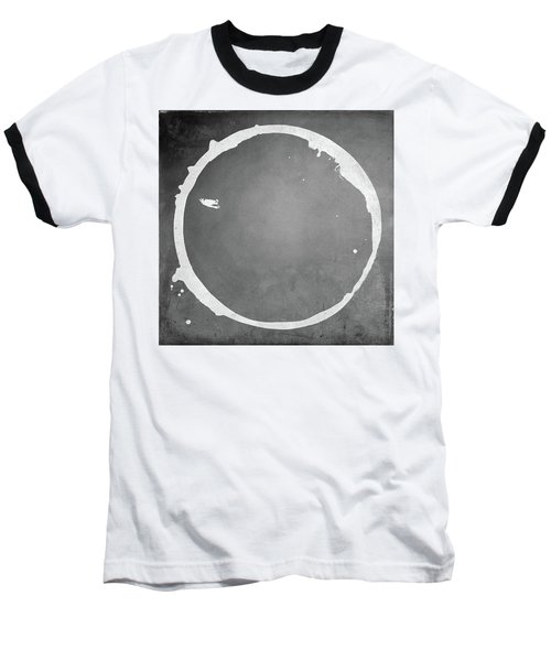 Baseball T-Shirt featuring the digital art Enso 2017-16 by Julie Niemela