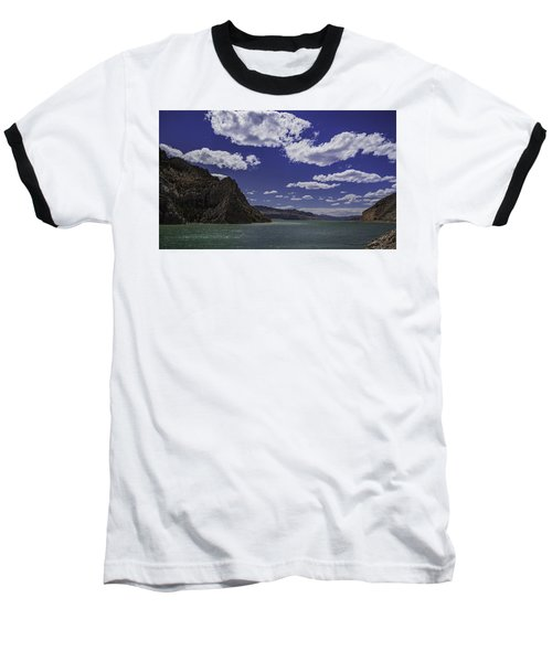 Baseball T-Shirt featuring the photograph Entering Yellowstone National Park by Jason Moynihan