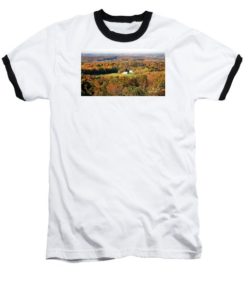 Baseball T-Shirt featuring the photograph Erin Wisconsin  by Ricky L Jones