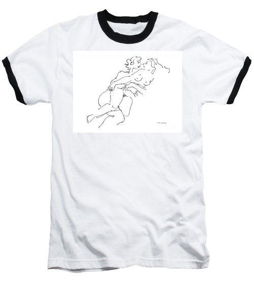 Erotic Art Drawings 13 Baseball T-Shirt