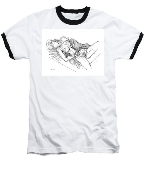 Erotic Art Drawings 7 Baseball T-Shirt