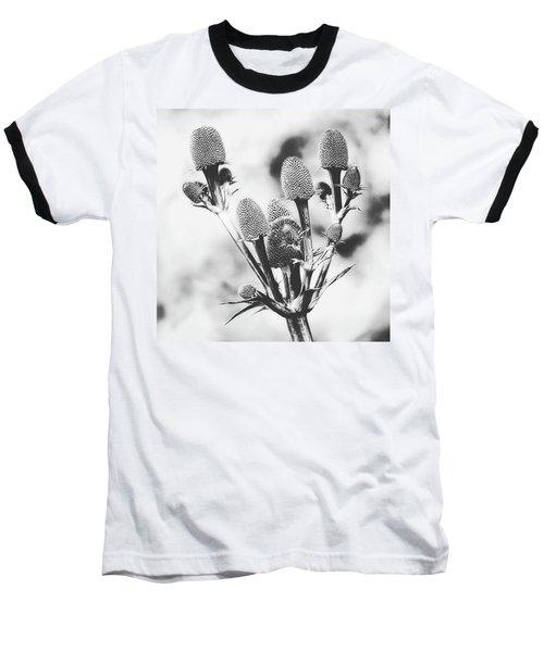 Eryngium #flower #flowers Baseball T-Shirt