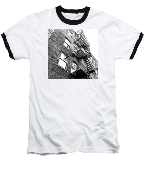 Baseball T-Shirt featuring the photograph Escape by Wade Brooks
