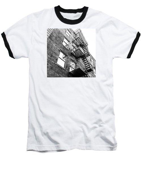Escape Baseball T-Shirt by Wade Brooks