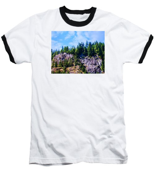 Escarpment 2 Baseball T-Shirt by Timothy Bulone
