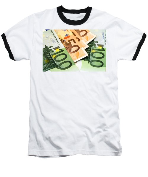 Euro Banknotes Baseball T-Shirt