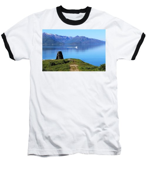 Evenes, Fjord In The North Of Norway Baseball T-Shirt