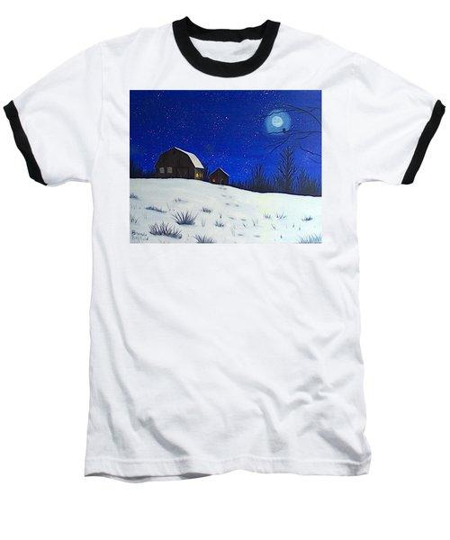 Evening Chores Baseball T-Shirt