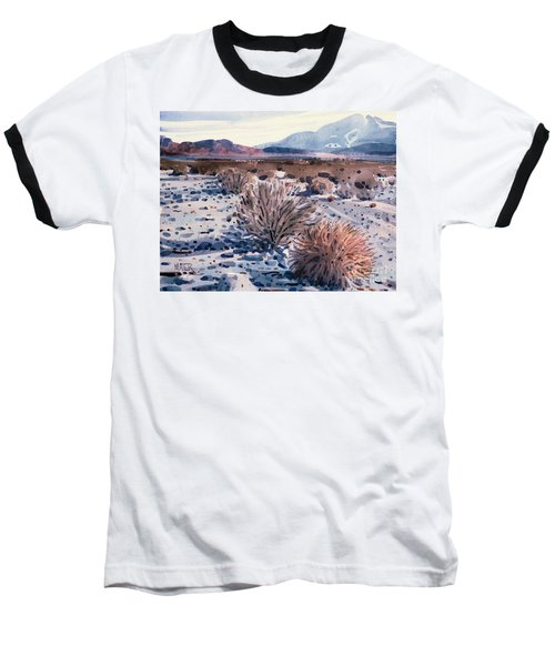Evening In Death Valley Baseball T-Shirt by Donald Maier